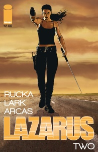 Cover of Issue 2 of Lazarus